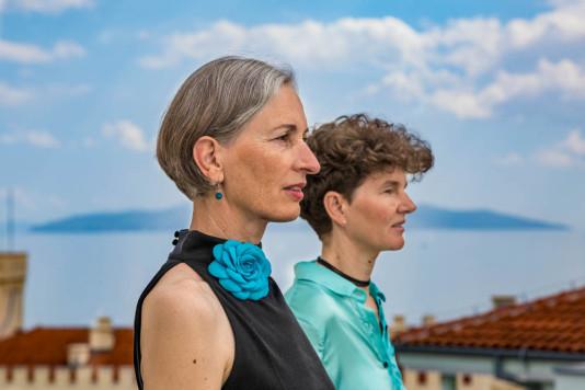 Andrea Tieber und Sigrid Mark