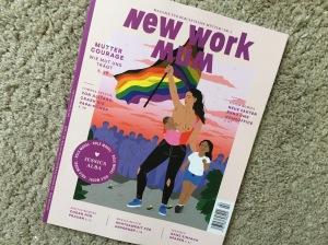 Cover Zeitschrift New Work Mum