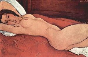 "Modigliani ""Liegender Akt"""