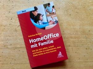 """Buchtitel """"HomeOffice mit Familie"""""""