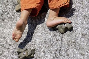 Kletterndes Kind